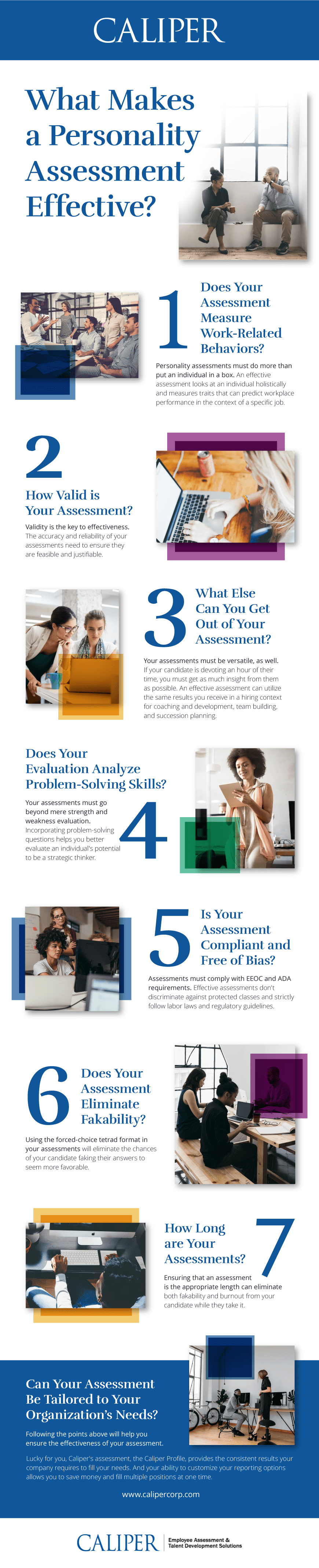 What Makes a Personality Assessment Effective? Infographic